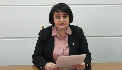 """Viorica Dumbrăveanu: ,,Fac apel repetat către populație să respecte toate sfaturile medicilor"""""""