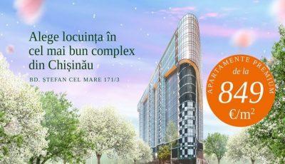 Solomon Dendrarium – cel mai bun complex din Chișinău! Peste 60% din apartamente vândute