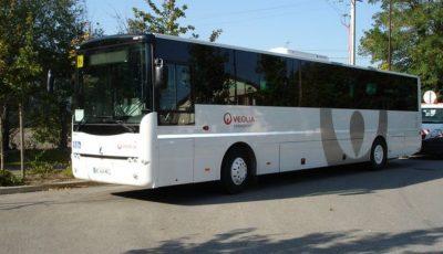Liber la călătorii. Primul autocar, cu doi pasageri, a plecat spre București