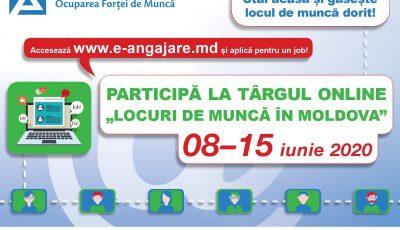 """""""Locuri de muncă în Moldova"""" – participă la Târgul online al locurilor de muncă, ediția a XVIII-a"""