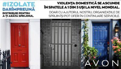 Avon vine în ajutorul victimelor violenței domestice din Republica Moldova, pe fondul creșterii incidenței abuzurilor în timpul izolării