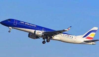 Compania Air Moldova spune când vor putea fi reluate cursele de zbor