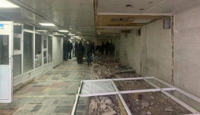 Un pasaj subteran din Capitală va fi renovat