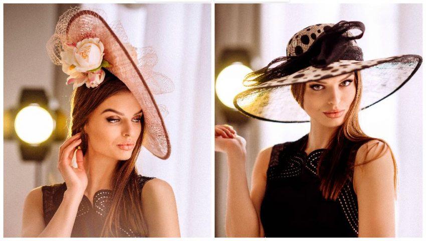 """Rafinament, palpitații și fiori! Designerul Chiroșca Iuliana ne prezintă o nouă ediție a colecției de pălării ,,Intuition"""""""