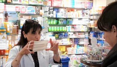 În Franța, farmaciile vând, de câteva zile, măști simple din pânză și reutilizabile