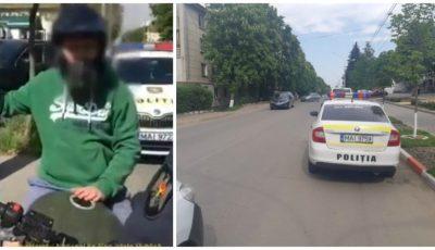 Video. Doi șoferi drogați vor fi documentați penal pentru ultragierea polițiștilor