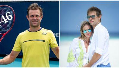 Tenismenul Radu Albot a devenit tătic! Prima imagine cu fetița cuplului