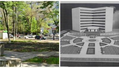 Foto! Scuarul de pe strada V. Dokuceav va fi reamenajat.  Iată cum va arăta în curând!