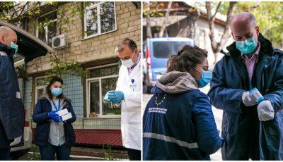 Poliția de Frontieră a primit o donație cu 36 de termometre digitale
