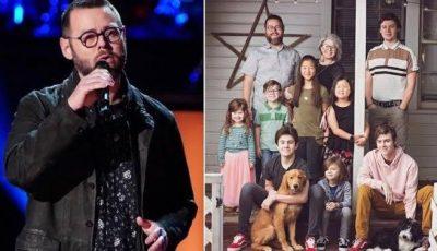 """Video! Un tată a opt copii este câștigătorul sezonului 18 """"The Voice"""" America"""