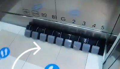 Idee ingenioasă. Thailandezii au creat liftul cu pedale pentru picioare