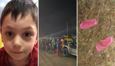 Copilul din Hâncești dat dispărut, a fost căutat toată noaptea. Ce indicii au fost descoperite?
