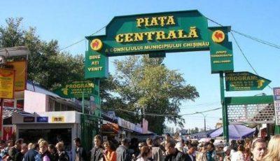 Piața Centrală din Chișinău se deschide