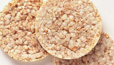 Rondelele de orez nu te ajută să slăbești
