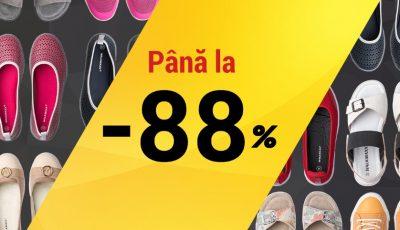 Lichidare de stoc la Walkmaxx! Reduceri de până la 88%! Alege perechea potrivită de la doar 199 lei!