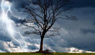 Meteorologii au emis Cod galben de ploi, grindină și vijelie