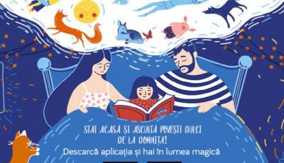 Ce povești dulci îi pui copilului să asculte cât #StămAcasă