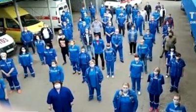 Proteste în spitalele din Rusia. Medicii care tratează bolnavi de Covid cer bonusurile promise