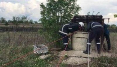 Cadavrul unei femei a fost scos dintr-o fântână publică din Stăuceni