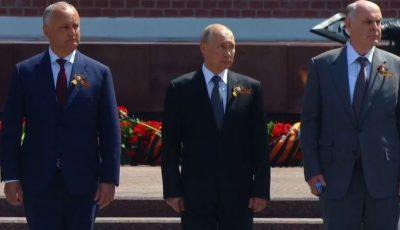 Ce cadou a primit Igor Dodon de la Vladimir Putin?