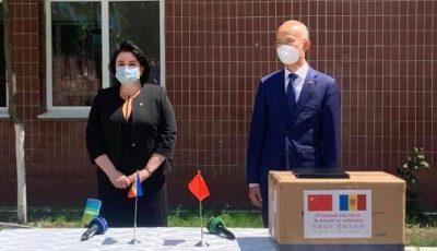 Poporul Chinez oferă un nou lot de asistență umanitară Republicii Moldova