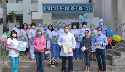 Ambasada Italiei a donat jucării copiilor unui spital din Chișinău