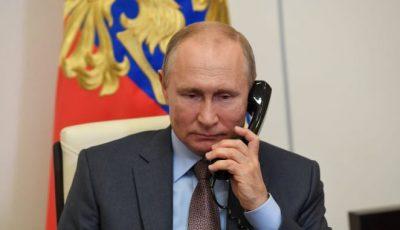 Președintele Vladimir Putin și-a instalat un tunel de dezinfecție pentru toți cei care intră în casa sa