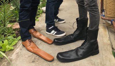 Pantofi pentru distanțare socială. Invenția unui cizmar