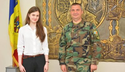 O studentă moldoveancă a fost admisă la Academia Forţelor Aeriene din Colorado, SUA