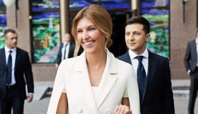Elena Zelenski, prima Doamnă a Ucrainei, a fost diagnosticată cu Covid-19