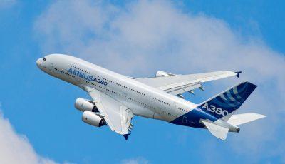Air France a trimis în zbor, pentru ultima dată, un avion A380