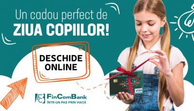 Cardul pentru minori de la FinComBank – un cadou perfect de Ziua Internațională a Copilului