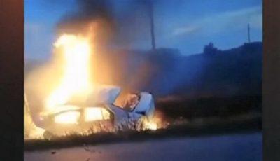 Cumplit. Doi polițiști din România au murit arși de vii, în timp ce se deplasau într-o misiune