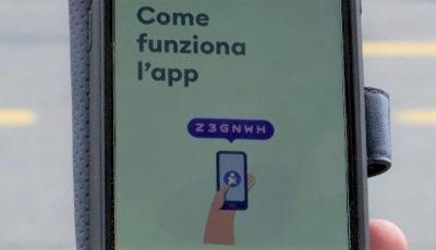 Italia a lansat prima aplicație de monitorizare a persoanelor infectate