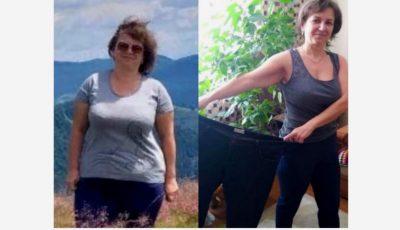 Participanta proiectului ,,Galina Tomaș îți cumpără kilogramele'' a reușit să ajungă de la 100 kg, la 64 de kg!