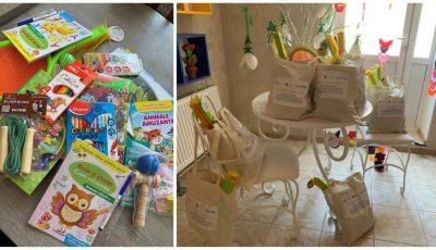 500 de copii vor beneficia de cărți de povești, jocuri logice și de creativitate, precum și echipamente sportive
