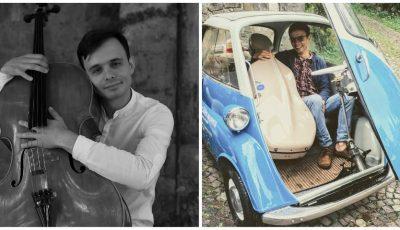 Radu Croitoru, artistul basarabean care pornește cu violoncelul la drum! Tânărul are nevoie de susținere în proiectul său VlogONcello Transylvania Tour