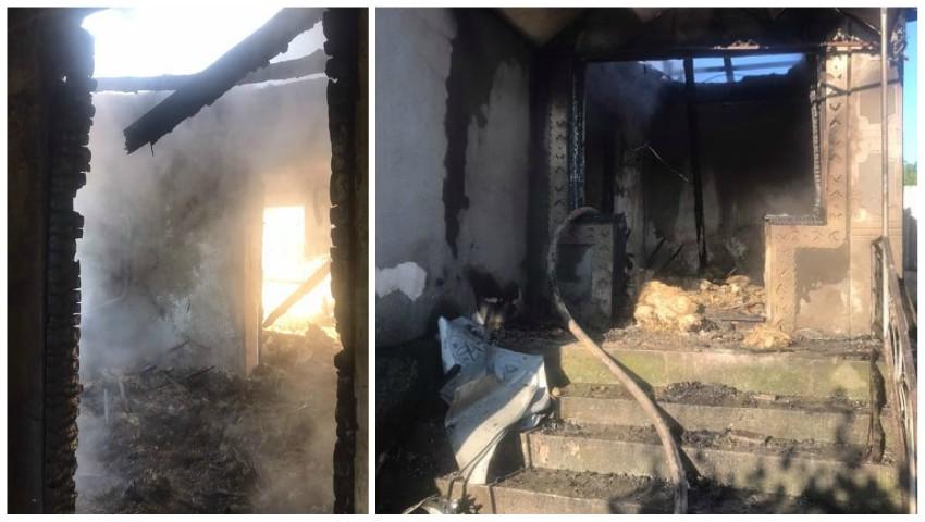 Explozie devastatoare într-o gospodărie din Pohrebeni. O femeie de 56 de ani și-a pierdut viața