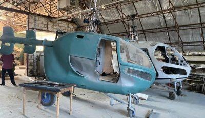 Un atelier clandestin de fabricare a elicopterelor a fost descoperit în raionul Criuleni