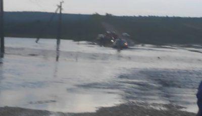 Ploaia a făcut ravagii în Ungheni și Telenești. Intervenția salvatorilor