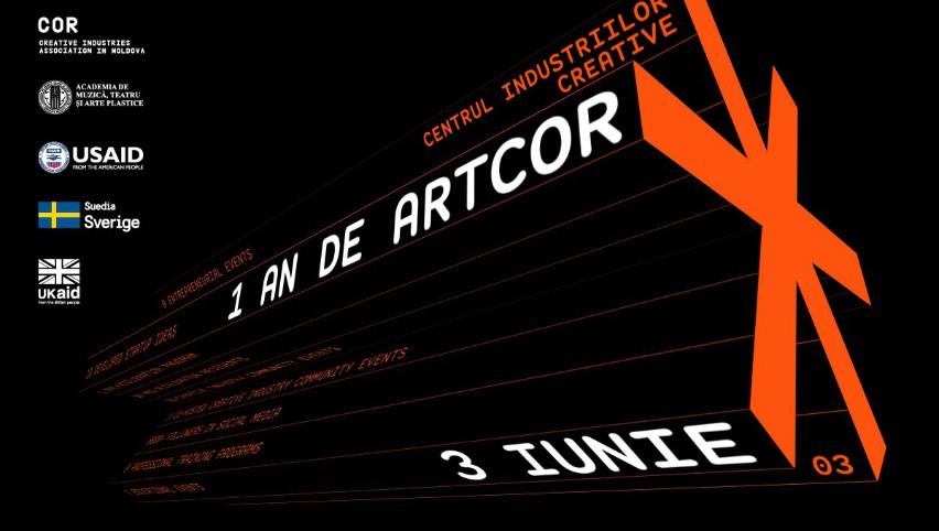 Artcor – centrul industriilor creative, împlinește un an de la lansare!