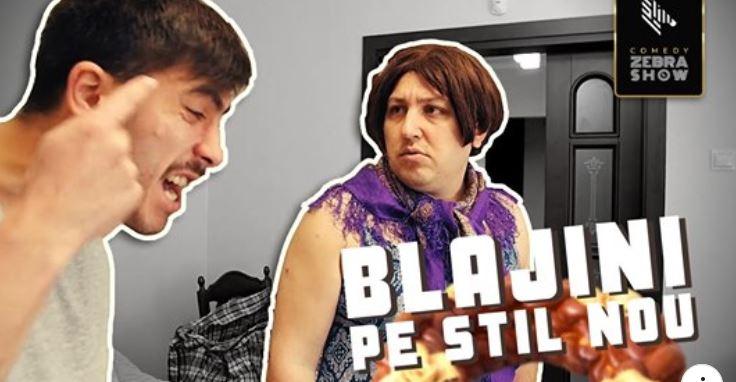 "Video. Comedy Zebra Show: ,,Doamna Valentina se pregătește de Blajini"""