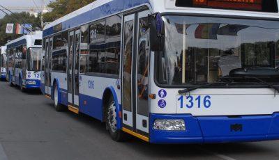 Decizie revizuită: Transportul public din Chișinău va circula în regim normal