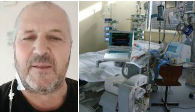 Mărturiile unui felcer din Briceni, după 16 zile la reanimare: M-am luptat cu moartea, din plămâni ieșea sânge și puroi