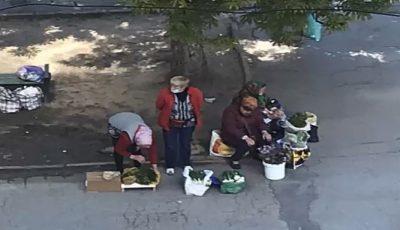Video. Precizarea poliției în cazul pensionarei care vindea verdețuri pe o stradă din Capitală