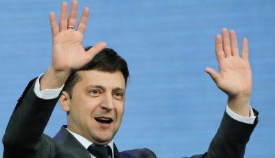 Preşedintele ucrainean Vladimir Zelenski a fost amendat pentru că a încălcat măsurile anti-epidemice