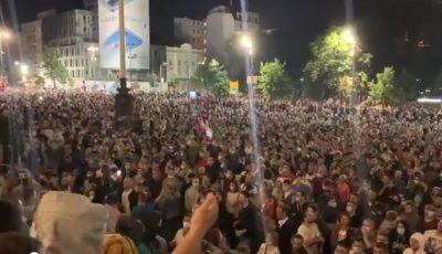 Proteste violente în Serbia după reimpunerea stării de urgenţă, din cauza pandemiei Covid-19