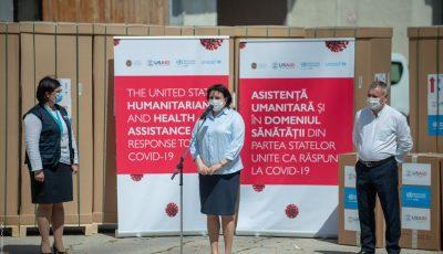OMS și USAID oferă 25 de frigidere de laborator și 12 distilatoare de apă spitalelor din Moldova