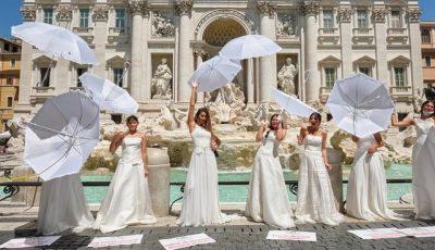 Miresele au ieșit la protest pentru că pandemia le-a anulat planurile de nuntă
