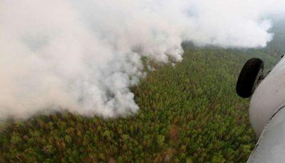 Temperaturile din Siberia au atins valori record. Incendiile se intensifică